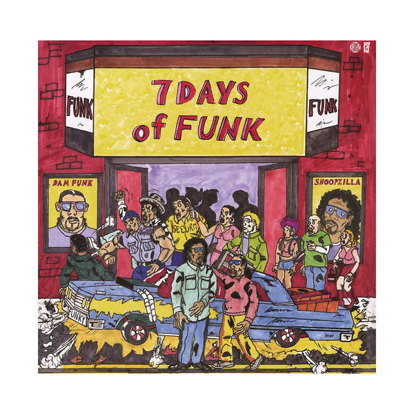 Dam-Funk & Snoopzilla (Snoop Dogg!) - 7 Days of Funk - New Vinyl Record Stones Throw USA includes MP3 Download
