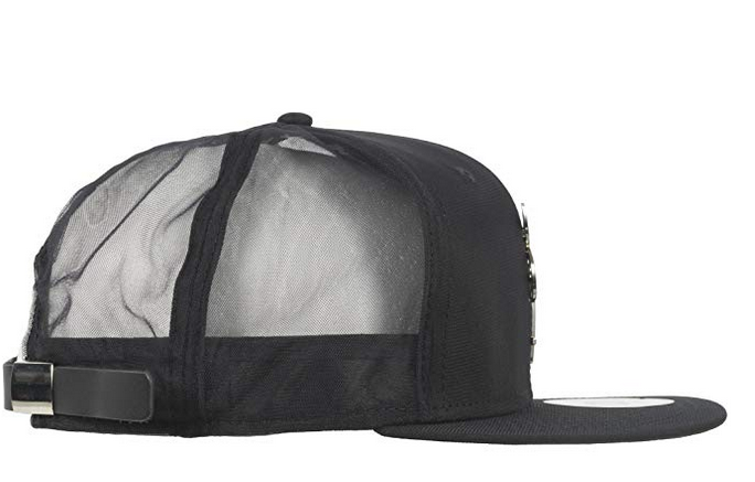 coupon for black scale womens new era adjustable leather strapback hat with occult  emblem and mesh f268d5ca442b