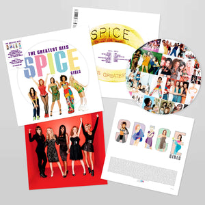 Spice Girls ‎– Greatest Hits - New Lp Record 2019 USA Picture Disc Vinyl & Inserts - EuroPop / Pop / Dance