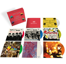 "The Beatles - The Christmas Records - New Vinyl 2017 Capitol Records 7x 7"" Box Set on Colored Vinyl with Original 'Fan Club' Artwork and 16-Page Booklet - Holiday / Pop Rock"