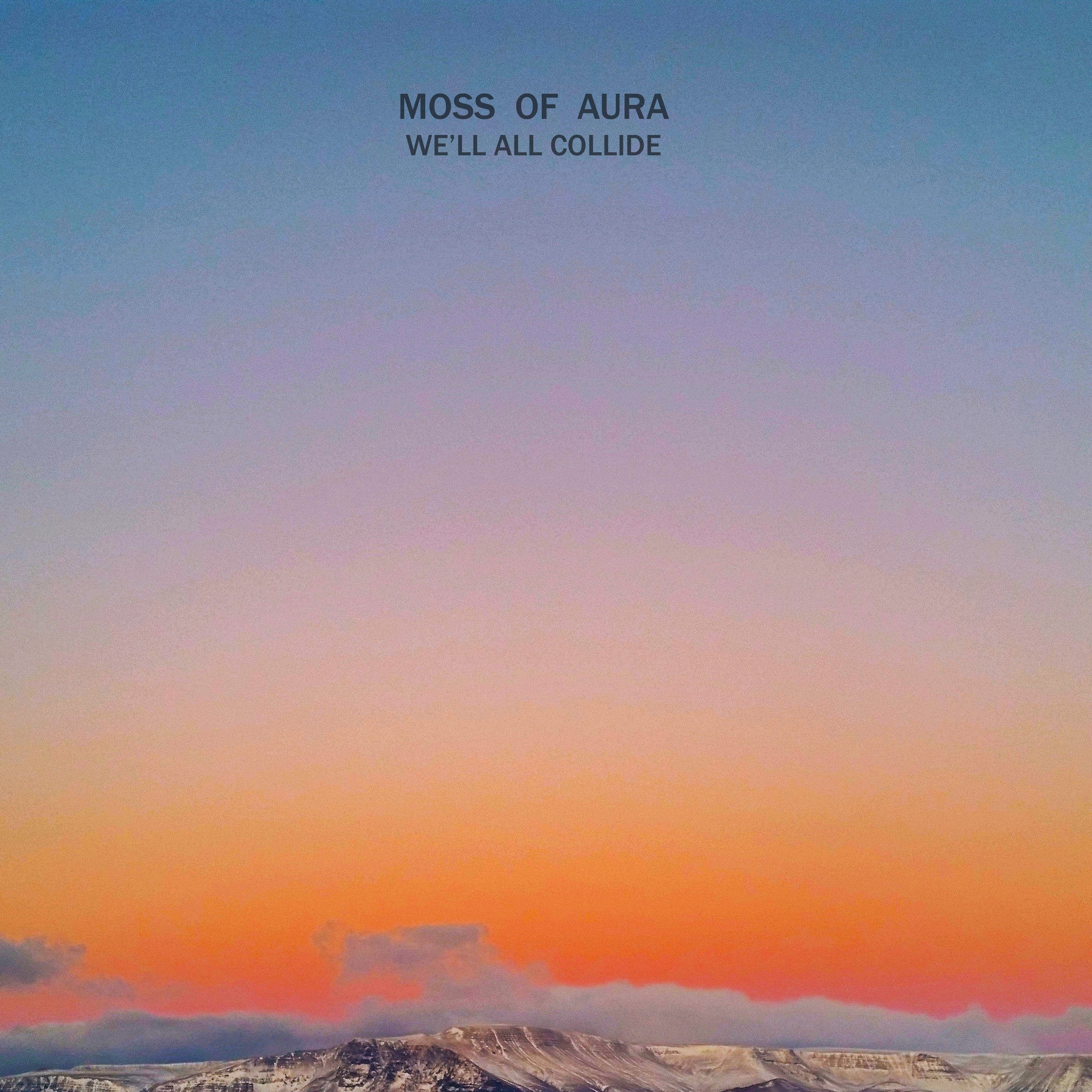 Moss of Aura (Gerrit Welmers of Future Islands!) - We'll All Collide - New Vinyl Record 2016 Friends Records LP - Electronic / Synthwave / V. Chill