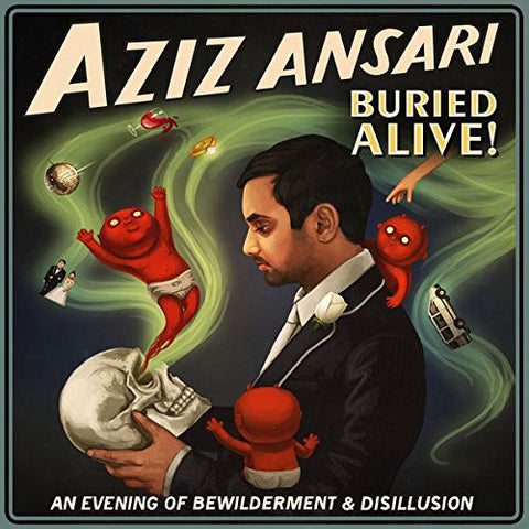 Aziz Ansari - Buried Alive! - New Vinyl 2015 2-LP Gatefold Pressing w/ Download - Comedy / Funnies