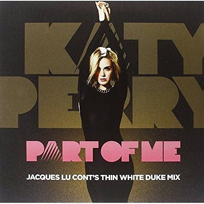 "Katy Perry - Part of Me Jaques Lu Cont's Thin White Duke Mix - New Vinyl 2012 12"" Single"