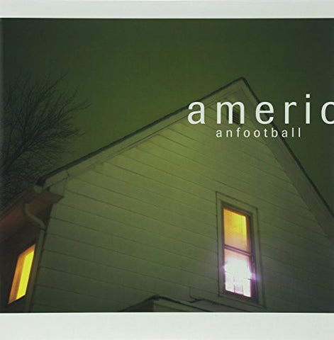 American Football ‎– American Football - New LP Record 2004 Polyvinyl Clear/Blue Smoke 180 gram Vinyl & Download -  Emo / Math Rock / Indie