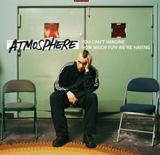 Atmosphere - You Can't Imagine How Much Fun We're Having - New Vinyl Record 2015 Rhymesayers Deluxe 10th Anniversary Edition, 4LP Green + Red Vinyl, w/ Instrumentals, Lyrics + Download - Rap / HipHop