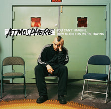 Atmosphere - You Can't Imagine How Much Fun We're Having - New Vinyl 2015 Rhymesayers Deluxe 10th Anniversary Edition, 4LP Green + Red Vinyl, w/ Instrumentals, Lyrics + Download - Rap / HipHop