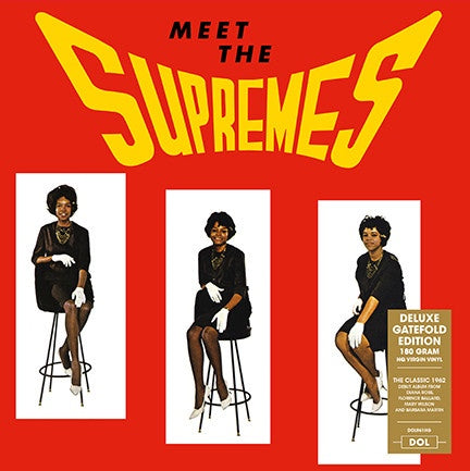 The Supremes ‎– Meet The Supremes (1962) - New Vinyl Lp 2018 DOL 180gram Import Pressing with Gatefold Jacket - Funk / Soul