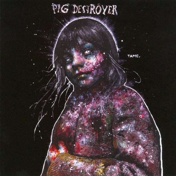 Pig Destroyer - Painter of Dead Girls - New Vinyl Record 2016 Robotic Empire Limited Edition Deluxe Gatefold Purple / Silver Merge Vinyl LP + Download - Grindcore / Metal