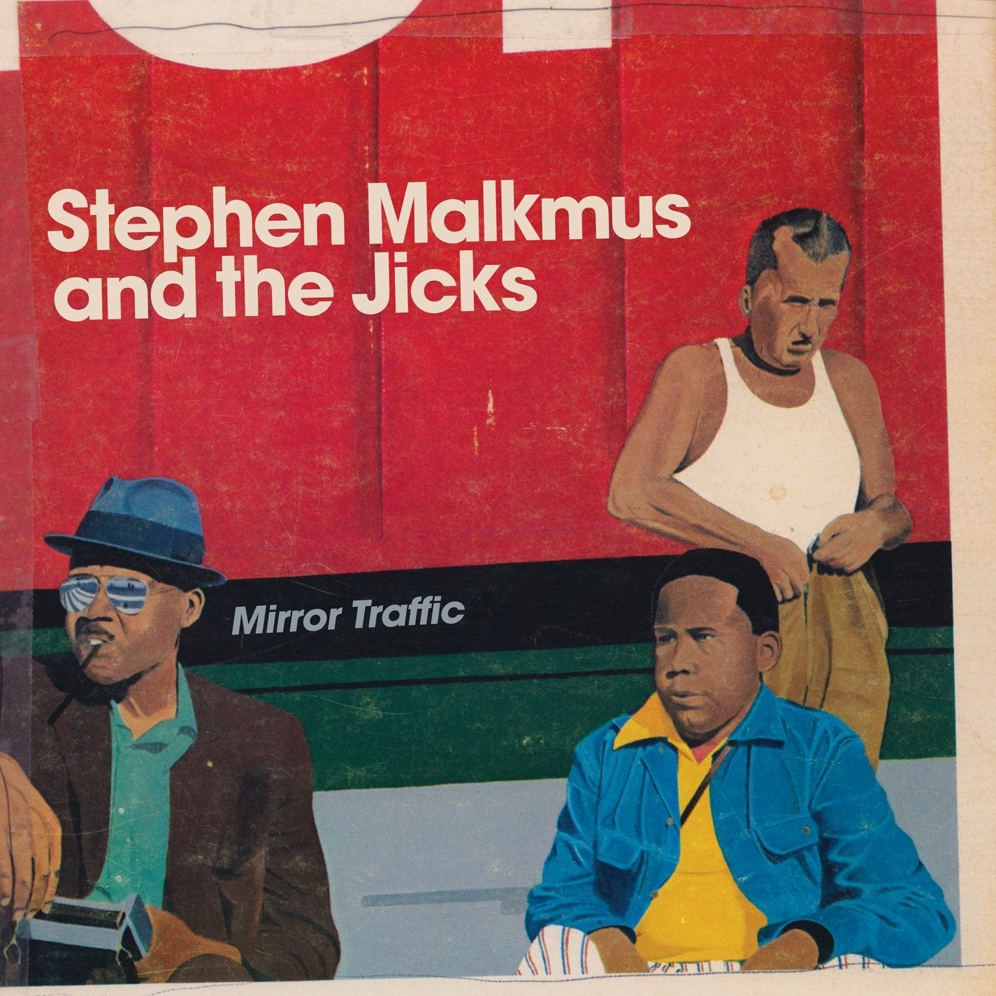 Stephen Malkmus And The Jicks ‎– Mirror Traffic - New Vinyl 2011 Matador 2 Lp Pressing with Etched D-Side and Download - Indie Rock