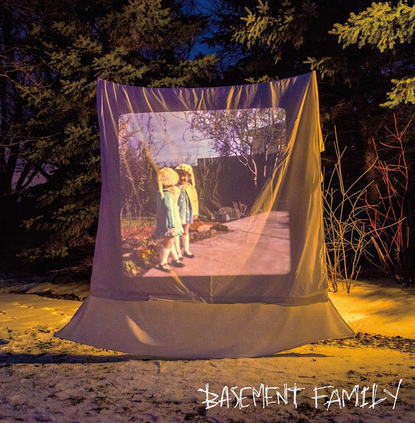 Basement Family - S/T debut - New Vinyl Record 2016 Maximum Pelt Records Limited Edition of 300 on Color Vinyl - Chicago IL Sludgey Garage-Pop / Stoned-out Dream Pop / FUZZZZZ (fu: Chicago/Max Pelt)