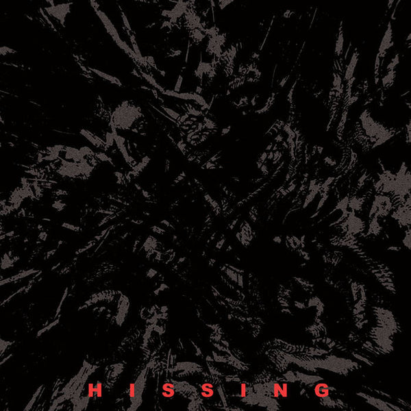 "Hissing - S/T - New Vinyl Record 2016 Southern Lord Records Limited Edition Clear Vinyl 7"" Single - Blackened Sludge / Doom feat Joe O'Malley, brother of Riff-Lord Stephen O'Malley (Sunn!)"
