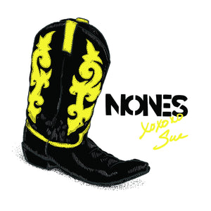 Nones - XOXOXO Sue - New Vinyl Record 2016 Self Released LP w/ lyric sheet - Chicago, IL Noise / Post-Punk (FU: Chicago / Nones)