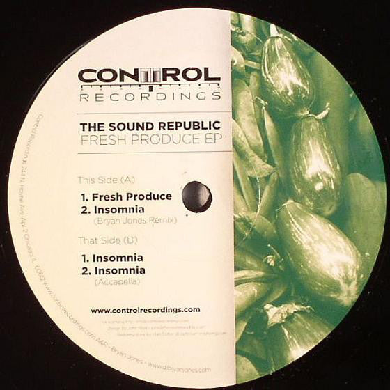 "The Sound Republic - Fresh Produce EP - VG 12"" Single USA 2006 - Chicago House/Deep House"