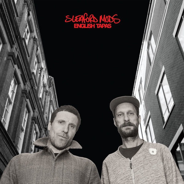 Sleaford Mods ‎– English Tapas - New LP Record Rough Trade 2017 Indie Exclusive Red Vinyl - Electronic / Hip Hop / Post Punk
