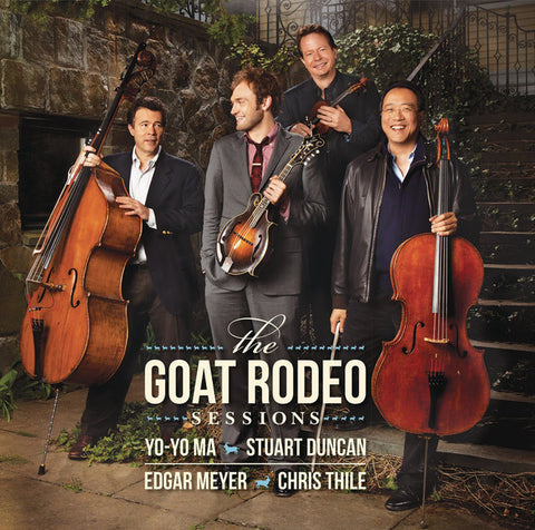 Yo-Yo Ma, Stuart Duncan, Edgar Meyer, Chris Thile ‎– The Goat Rodeo Sessions - New 2 Lp Record 2015 Sony USA 180 gram Vinyl & Download - Classical