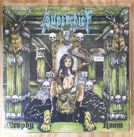 Superchief ‎– Trophy Room - New LP Record 2019 Magnetic Eye USA Black Vinyl - Stoner Rock