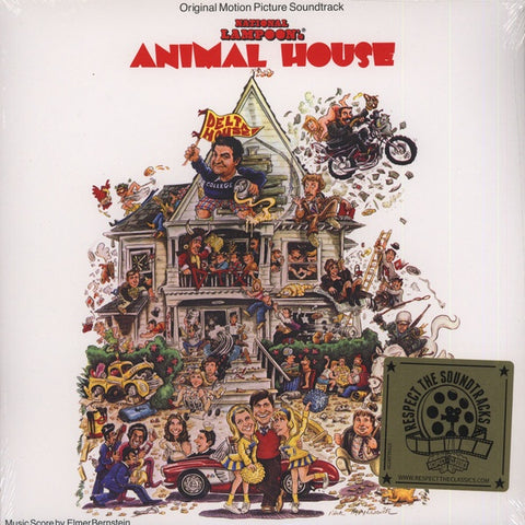 Various ‎– National Lampoon's Animal House Original Motion Picture - Mint- Lp Record Store Day 2015 Geffen USA RSD Vinyl - Soundtrack