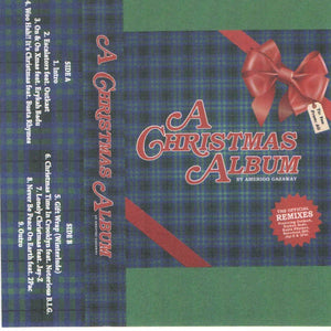 Amerigo Gazaway ‎– A Christmas Album - New Cassette 2020 Soul Mates USA White Tape - Mashup / Funk / Soul / Holiday