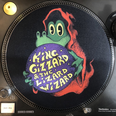 Shuga Records 2020 Limited Edition Vinyl Record Slipmat King Gizzard and the Lizard Wizard - Magic Lizard Slip Mat