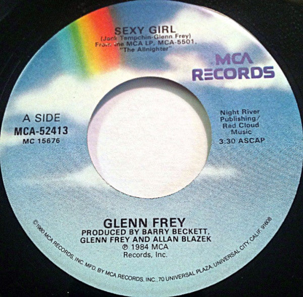 Glenn Frey ‎– Sexy Girl / Better In The USA - VG+ 45rpm 1984 MCA Records - Pop Rock