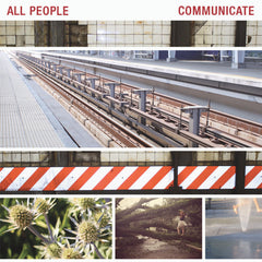 All People - Communicate - New Vinyl 2013 Community Records First Press (500!) on Black Vinyl - Post-Punk / Experimental Indie
