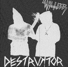 Manatees - Destruktor - Beast / Witch - 2013 Tic Tac Totally! (Chicago Label) - Punk