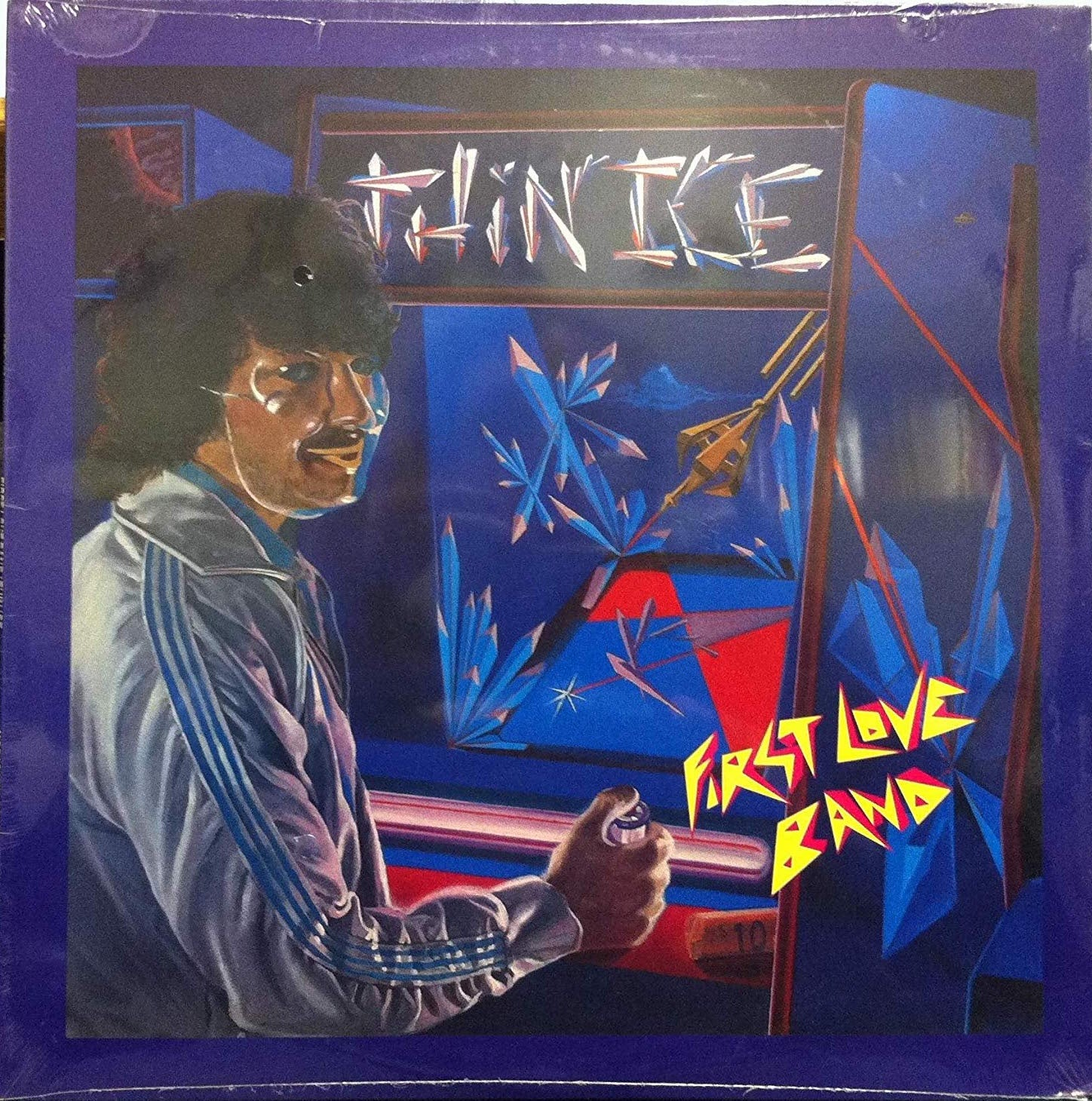 First Love Band ‎– Thin Ice - New Lp Record 1983 Morada USA Vinyl Original - Prog Rock