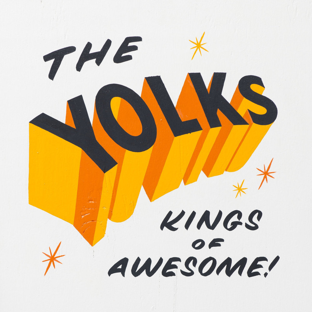 The Yolks - Kings Of Awesome - New Vinyl Record - 2014 Randy Records - Chicago / Punk / Garage