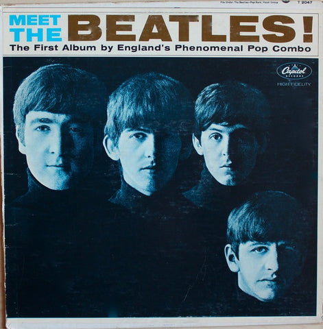 The Beatles ‎– Meet The Beatles! (1964) - VG- (lower grade) Lp Record 1971 Apple USA Stereo  Vinyl - Rock & Roll