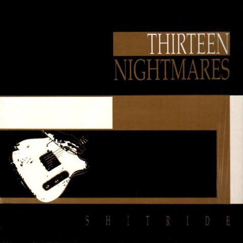 Thirteen Nightmares ‎– Shitride - New LP Record 1989 Pravda Vinyl - Alternative Rock