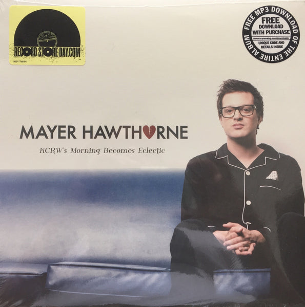 "Mayer Hawthorne - KCRW's Morning Becomes Eclectic - New Vinyl 10"" USA (Black Friday 2012 Limited Edition Clear Vinyl) - Funk / Soul"