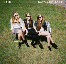 Haim – Days Are Gone - New Vinyl 2013 Columbia 180Gram 2-LP Debut Pressing with Download - Pop / Rock
