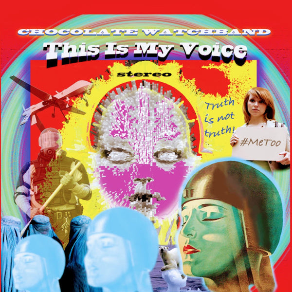 Chocolate Watch Band - This Is My Voice - New LP Record 2019 180g Colored Splatter Vinyl - Psych Rock / Garage Rock