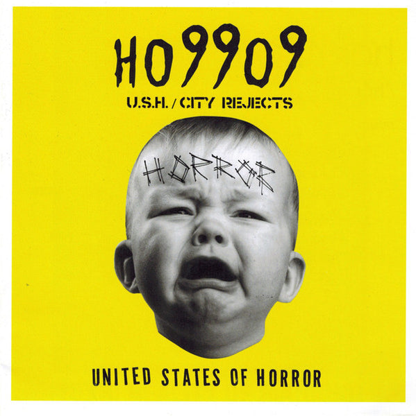 "HO99O9 (Horror) - United States Of Horror / City Rejects - New Vinyl 7"" Single 2017 Toys Have Powers Promo with 6"" x 6"" Art Zine - Hardcore Rap / Punk (FFO: Death Grips)"