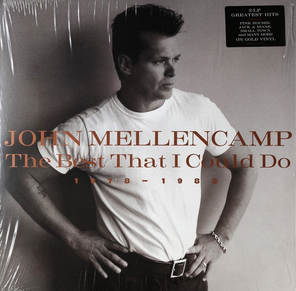 John Mellencamp ‎– The Best That I Could Do (1978-1988) - New 2LP 2019 Record Compilation Reissue Limited Edition Gold Vinyl - Rock & Roll