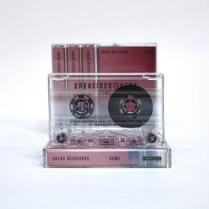 Great Deceivers ‎– Some - New Cassette 2017 Sooper Tape - Indie / Math Rock