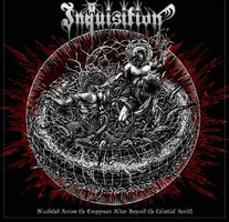 Inquisition ‎– Bloodshed Across The Empyrean Altar Beyond The Celestial Zenith - New Vinyl 2016 Season of Mist 2 Lp Pressing on 'Silver with Black Marble' Vinyl with Gatefold Jacket (Limited to 500!) - Black Metal