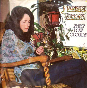 Harriet Schock ‎– She's Low Clouds - Mint- 1974 Stereo USA Original Press (With Insert Sheet) - Country