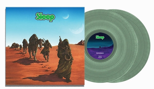 Sleep - Dopesmoker - New Vinyl Record 2016 Southern Lord Limited Edition Opaque Green Gatefold 2-LP Pressing - Stoner Metal / Doom / Best of all time. Drop out of life with bong in hand.