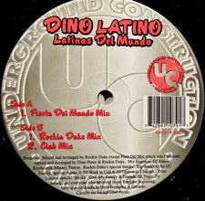 "Dino Latino - Latinas Del Mundo Mint- - 12"" Single 1996 Underground Connection USA - Chicago House"