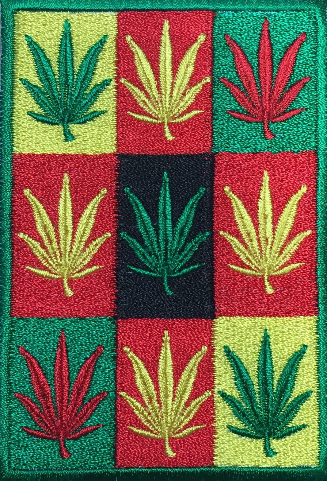 Rasta Weed Patch