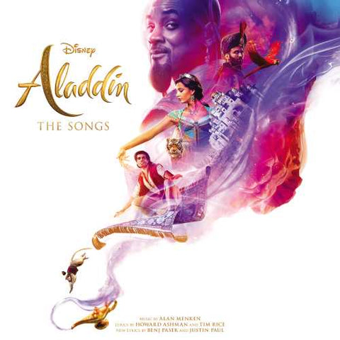 Alan Menken Various ‎– Disney's Aladdin The Songs - New Lp Record 2019 USA Disney Vinyl - Soundtrack
