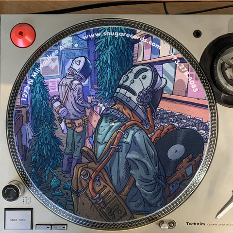 Shuga Records 2020 Vinyl Record Slipmat - Highly Recommended Chicago Vol. 1 G6 The Legalization Slip Mat