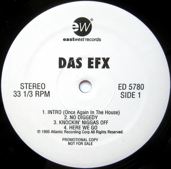 Das EFX - Hold It Down - VG+ 2 Lp Set 1995 USA Promo Original Press - Hip Hop