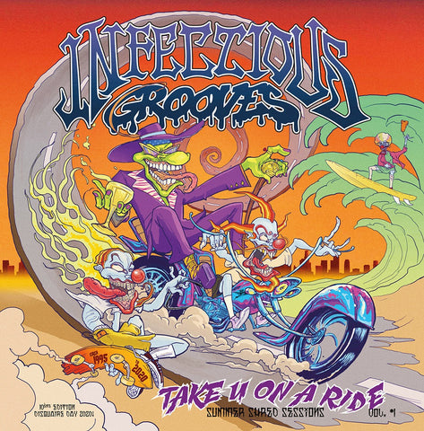 Infectious Grooves - Take You On A Ride - New Lp Record Store Day 2020 ORG USA RSD Transparent Orange Vinyl - Funk Metal