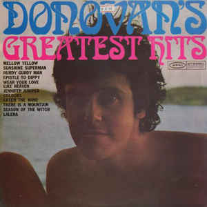 Donovan - Greatest Hits - VG+ Stereo 1969 Epic Original Press Yellow Label (With Inner Sleeve & Book) - Rock
