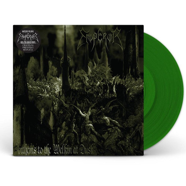 Emperor - Anthems to The Welkin at Dusk - New Vinyl Lp 2018 Spinefarm Reissue on Green Vinyl - Black Metal
