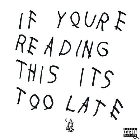 Drake - If You're Reading This It's Too Late - New Vinyl 2016 Young Money / Cash Money Records Gatefold 2-LP Pressing - Rap / Hip-Hop