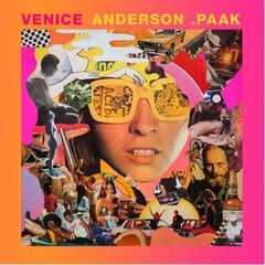 Anderson Paak - Venice - New Vinyl 2015 OBE Records 2-LP Pressing - Rap / Hip-Hop