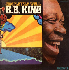 B.B. King ‎– Completely Well - VG-  Vinyl Record 1969 Stereo USA - Blues